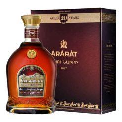 Ararat brandy 20r 40% 0.7