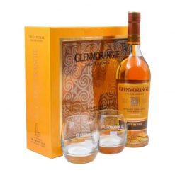 Glenmorangie 10r 40% 0.7 + 2 pohare