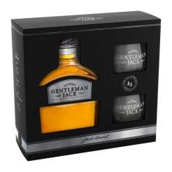 Jack Daniels Gentleman 40% 0.7 + pohar