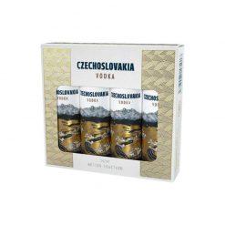 Czechoslovakia vodka 40% 4x0.04 mini