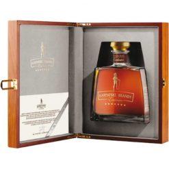Karpatske brandy special Exclusive 40% 0.7 drevena kazeta